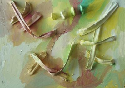 Kreuzungen, Öl auf Leinwand, 80 x 100 cm, 2013