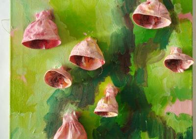 Glocken, Öl auf Leinwand, 60 x 60 cm, 2009